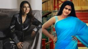"""Kajol shares throwback picture about managing weight: 'When your brain says """"crunches"""" but your stomach auto-corrects it to """"peanut butter""""'"""
