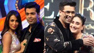 Bigg Boss OTT: Host Karan Johar reveals that he wouldn't mind stuck with BFFs Kareena Kapoor and Malaika Arora in the house without their phones
