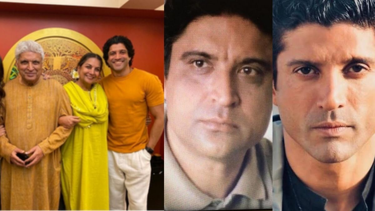 Shabana Azmi shares photo showing similarity between Javed Akhtar and Farhan, says 'they could be twins'