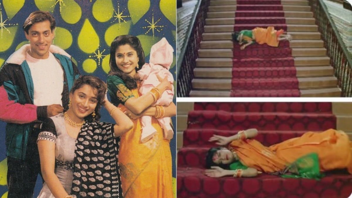 Reality behind the staircase scene in the 90's iconic 'Hum Aapke Hai Koun' will change the way how people felt about it