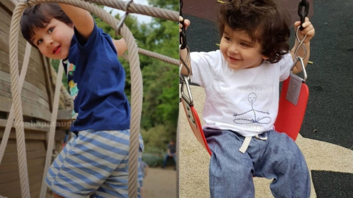 Unseen adorable pictures of Taimur Ali Khan shared by Saba Ali Khan is breaking the internet