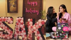 Inside pictures from Sara Ali Khan's lavish birthday bash with family and friends