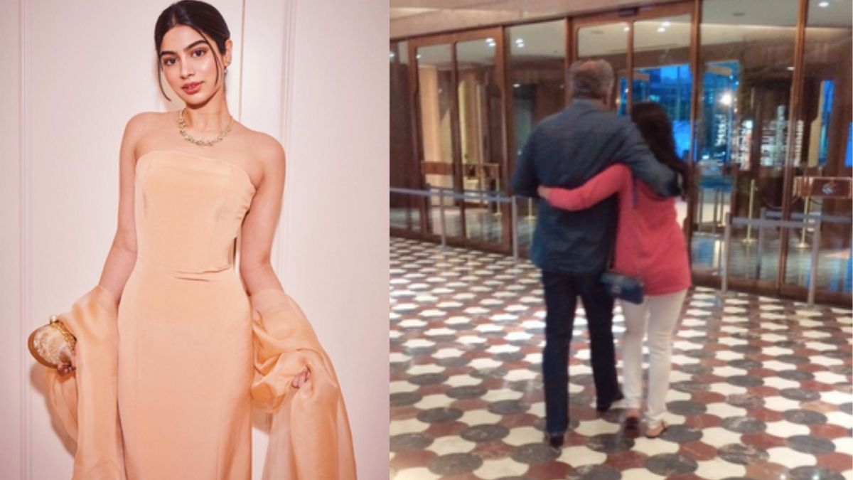 Khushi Kapoor shares unseen photo of her late mother Sridevi and Boney Kapoor, says 'Miss you everyday'