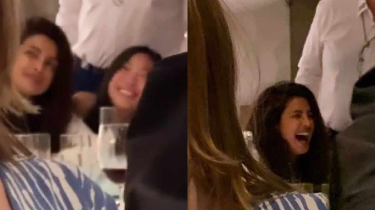 Priyanka Chopra's fan secretly captures her having dinner date with her friends in London, the fan writes 'entirely new level of FOMO'