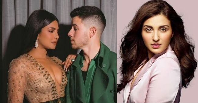 Priyanka Chopra poses as snack for Nick Jonas; Parineeti reacts in a quirky way
