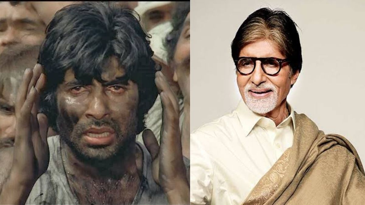 Amitabh Bachchan shares about his first job experience working in a coal mine