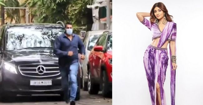 Shilpa Shetty's bodyguard Ravi welcomes Raj Kundra as he runs ahead of the car; Netizens praise his loyalty