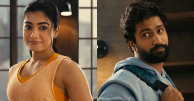 Rashmika Mandanna trolled for starring at Vicky Kaushal's underwear in the new ad, calls it 'cheap'