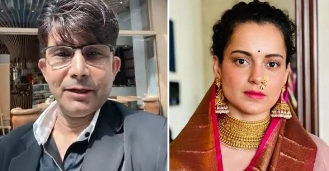 KRK Slams Kangana Ranaut for being a hypocrite to watch her film