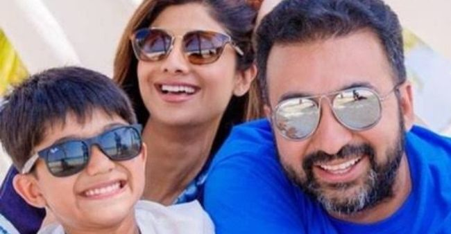 Viaan Shetty, Shilpa Shetty's son, share a photo after his father, Raj Kundra was granted bail