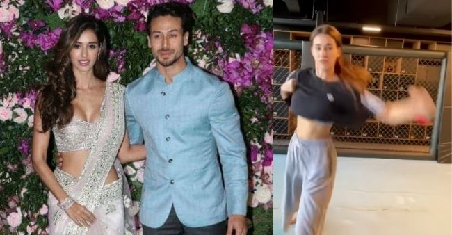 Disha Patani turns up the heat with her workout video, rumoured boyfriend Tiger reacts