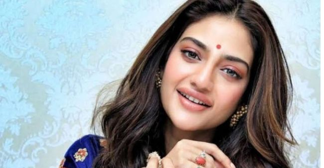 Nusrat Jahan gives befitting reply to reporter trying to troll about the father of her baby