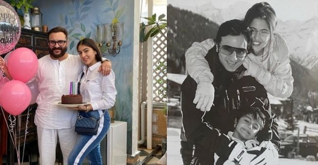 """Saif Ali Khan reveals how Sara stopped him from singing lullaby for her; Says, """"Abba please.. don't sing"""""""