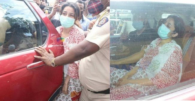 Heartbroken Shehnaaz Gill was inconsolable arriving for the last rites of late Sidharth Shukla