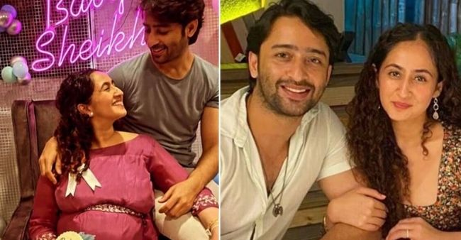Shaheer Sheikh and Ruchika Kapoor are blessed with a baby girl