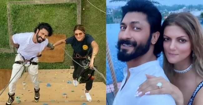 """Vidyut Jammwal confirms engagement with Nandita Mahtan; Reveals how he proposed her in """"commando way"""""""