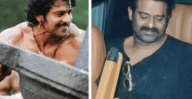 Prabhas gains weight and sports aged look, trolled massively