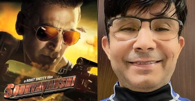 """KRK predicts the box office collection of Sooryavanshi; Says, """"Today it is Zero"""""""