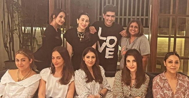 Inside the glamorous party of Manish Malhotra with Gauri khan, Malaika Arora and other 'famous wives'