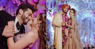 Abhishek Malik ties the knot with Suhani Chaudhary; Pictures goes viral on social media