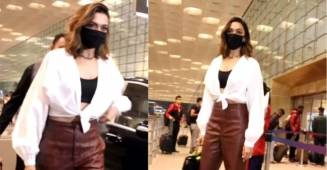 Deepika Padukone sets an example as she refuses to remove mask at the airport
