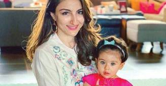 Soha Ali Khan resumes working; says she isn't sorry she has to leave daughter at home