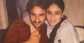 Kareena Kapoor shares a throwback picture with husband Saif Ali Khan on the occasion of anniversary