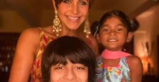 Mandira Bedi talks about difficulties post husband's demise, says her kids mean the world to her